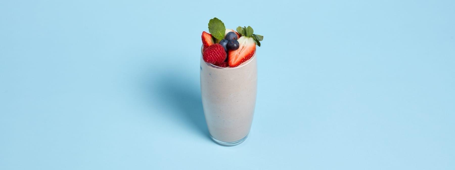 Veganer Protein Smoothie | Das beste vegane Shake Rezept