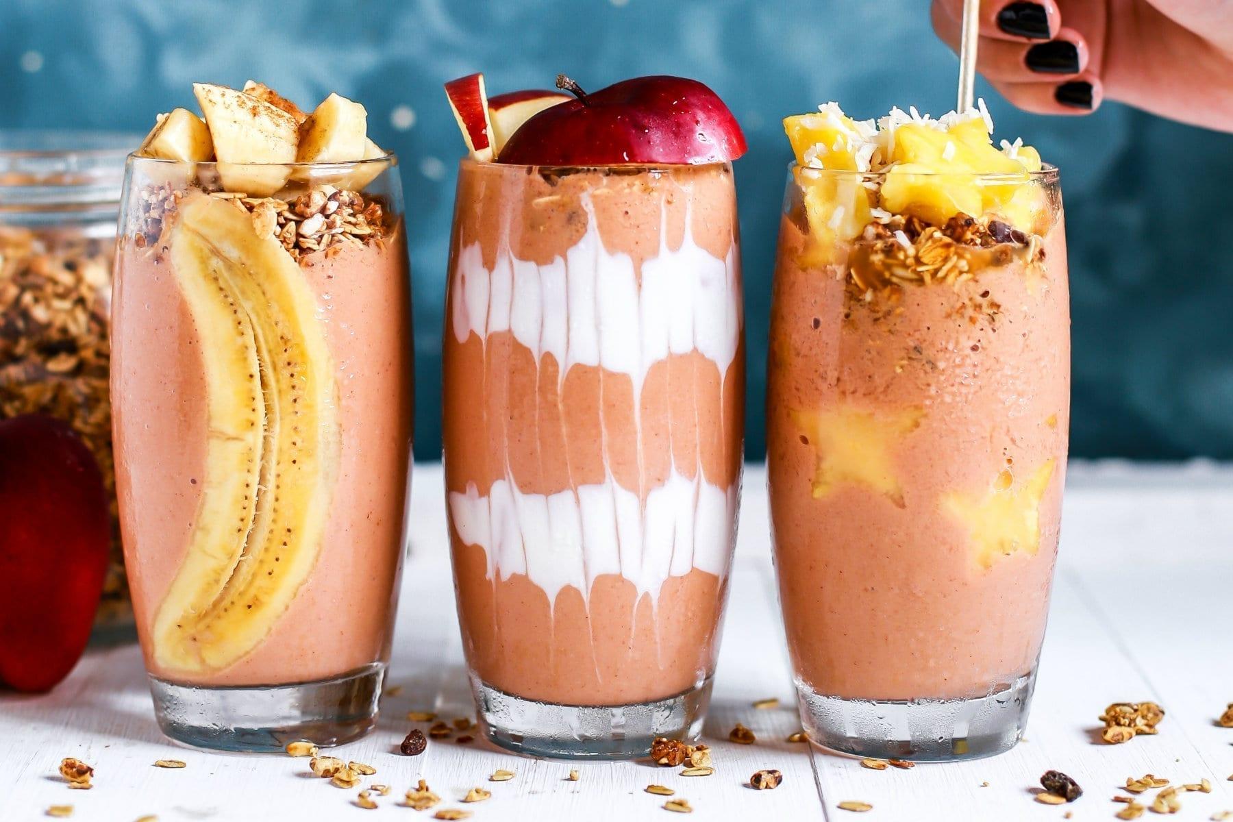 23 Protein Shakes & Smoothies zum Frühstück für optimalen Muskelaufbau & Fettabbau