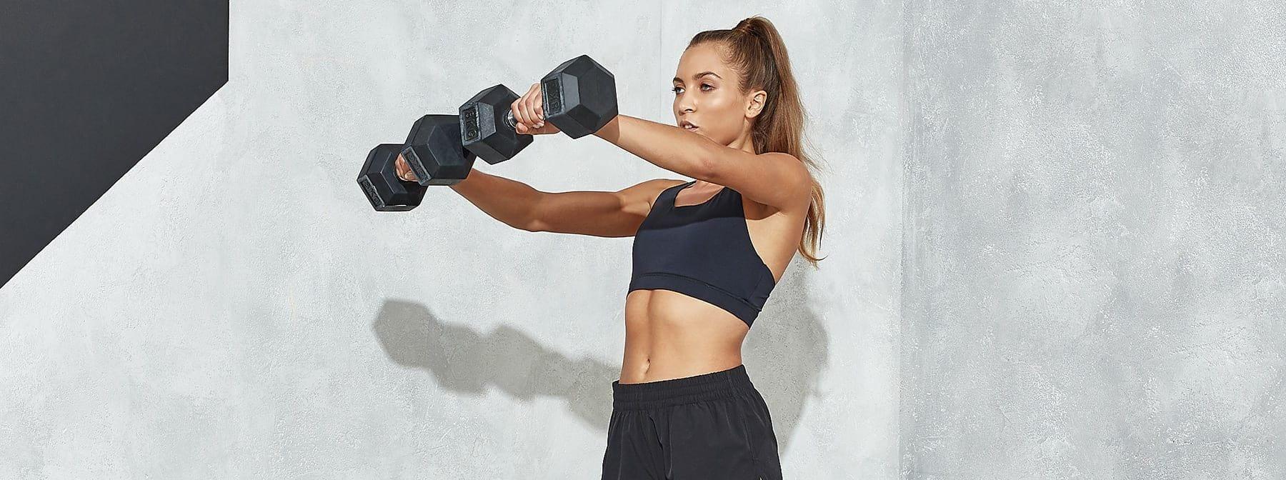 Die besten Kurzhantel-Übungen für die Schulter | Schultertraining für mehr Masse