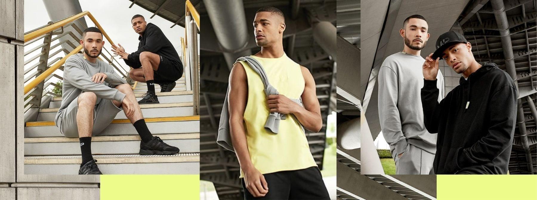 My Streets, My Style – Neue Menswear, die zu gut ist, um sie nur im Gym zu tragen