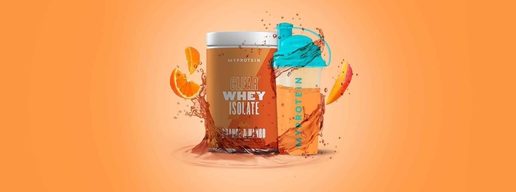 Protein wird jetzt fruchtig | Erfahre, was du über unser neues Clear Whey wissen musst
