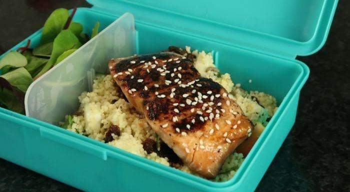 Lachs Zweierlei | Meal-Prep Rezepte mit Couscous