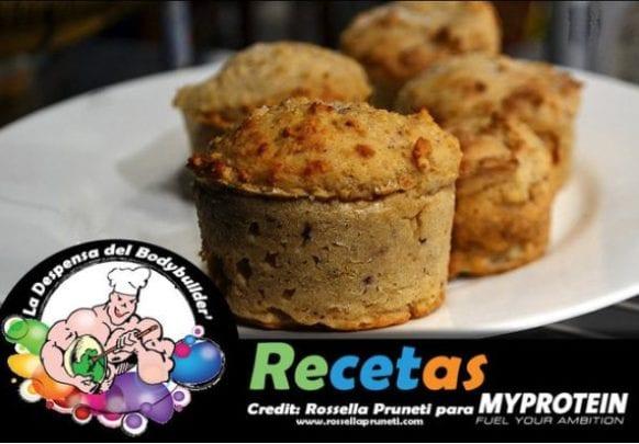 Postres Saludables | Muffin de Proteína de Guisante