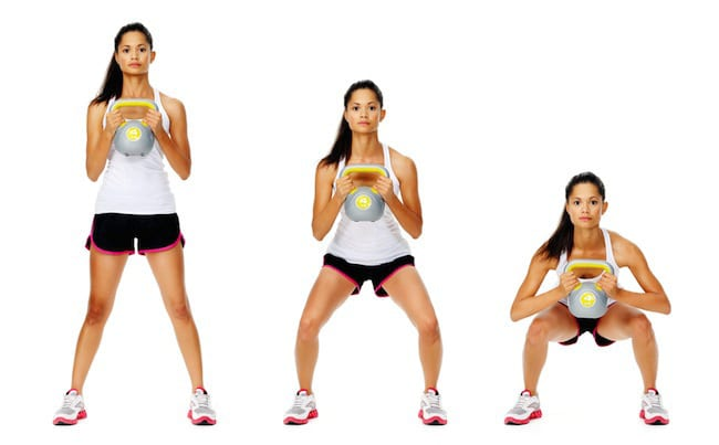 ejercicios con kettlebells para glúteo