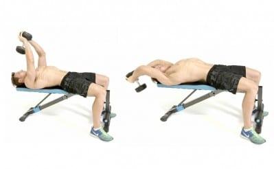 Ejercicios para espalda pull over