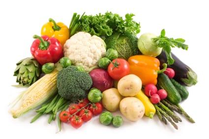 Dieta sin gluten verduras