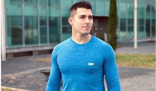 Sergio Peinado embajador myprotein