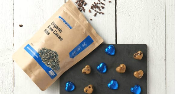 Corazones de cookie proteica | Receta de San Valentín