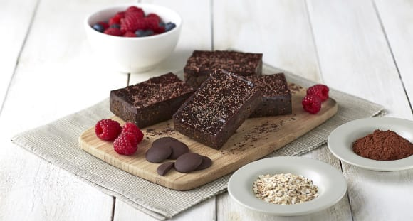 Brownies de chocolate saludables|Receta Brownie de mantequilla de cacao