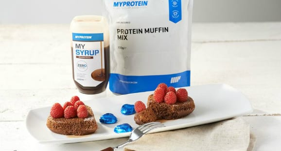 Pastel de chocolate proteico | Receta para San Valentín