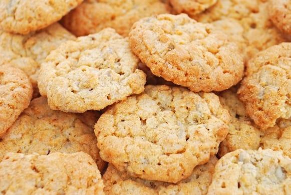 galletas con gachas de avena