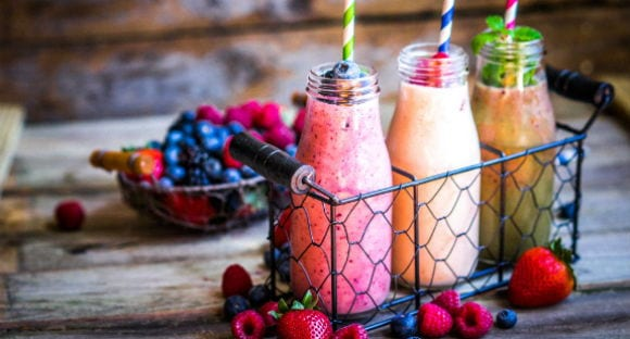 Smoothie de vainilla y galleta