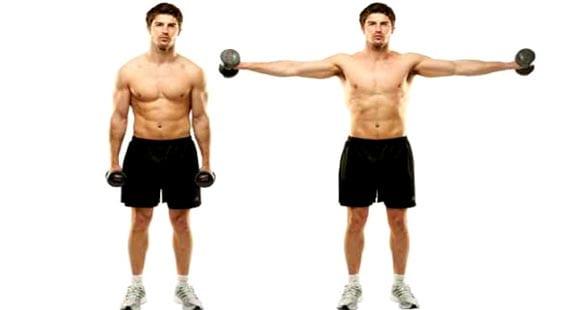 ejercicios para hombros medio