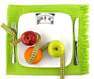 peso sobre la mesa