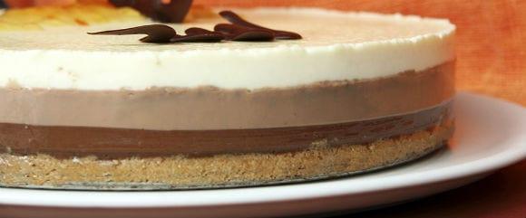 Tarta ChocoFit: Tarta de Chocolate y Proteína