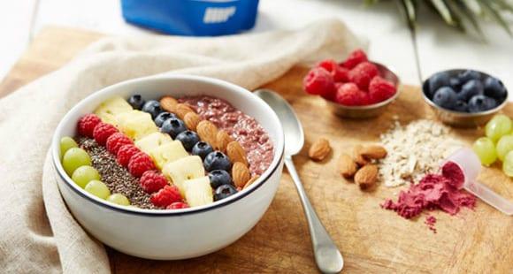 Desayuno Alto en Proteína | Bol de Bayas de Acai