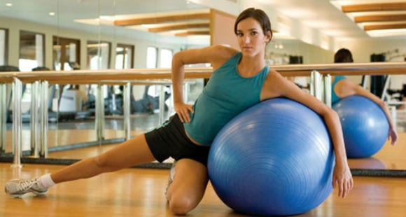 Tonificate! | Rutina Facil de Pilates con fitball