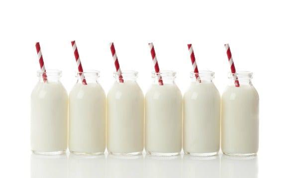 productos lácteos y la hinchazón de estómago