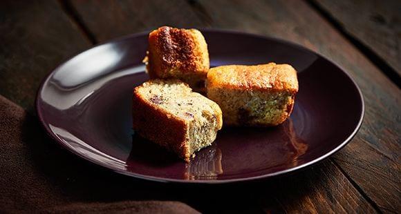Snacks saludables| Pan de plátano y chips de chocolate