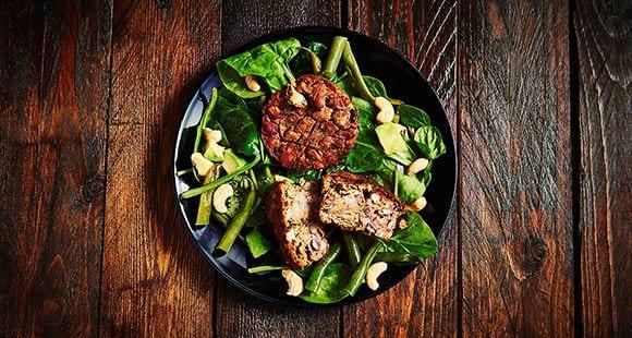 Comidas saludables | Hamburguesa de Alubias con Especias