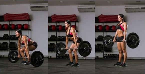 ejercicios compuestos como el peso muerto