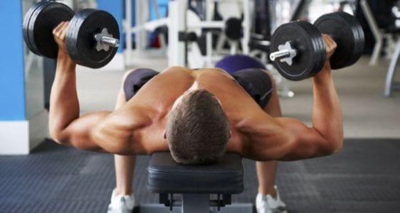 ejercicios para pectorales fuertes