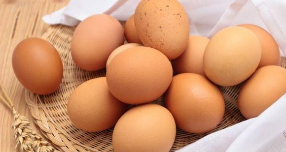 huevos enteros para aumentar volumen