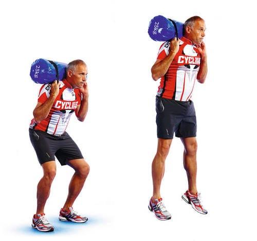 ejercicios con sacos