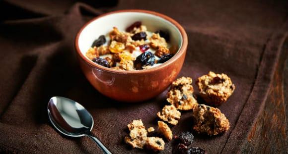 Receta Saludable | Desayuno con Granola Casera