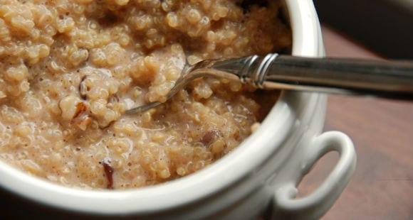 Receta con quinoa | Desayuno de Quinoa con Fresas
