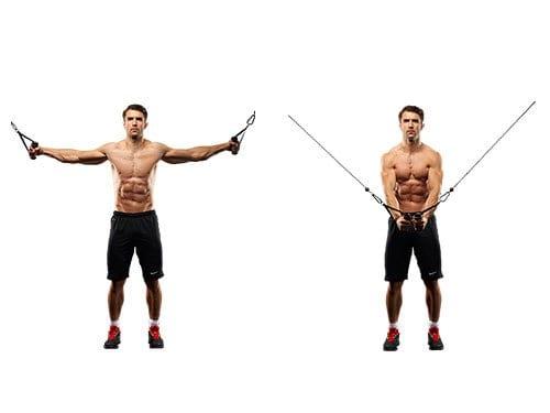 ejercicios para pecho en polea
