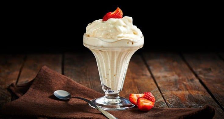 helado de proteínas