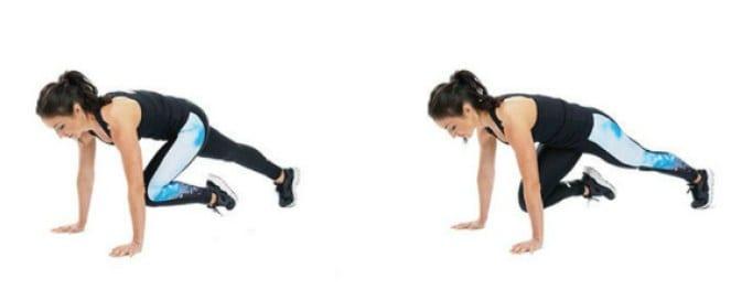 mountain climbers, ejercicios, ganar fuerza, potencia, ganar potencia, ejercicios compuestos, ejercicios aislamiento,