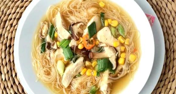 Receta Saludable | Cómo hacer un Delicioso Caldo de Pollo