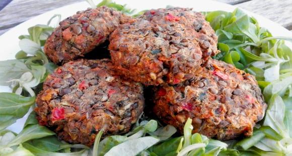 Receta Vegana | Hamburguesas de Lentejas