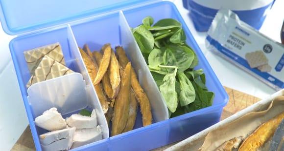 Receta de Batatas Fritas con Sirope de Arce