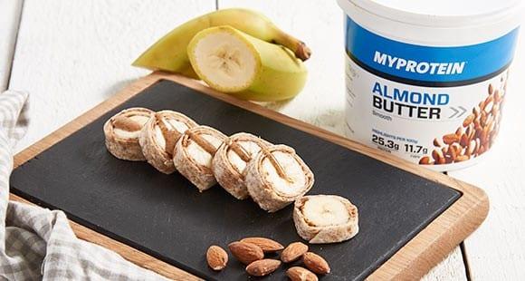 Snack Rápido | Plátano con Mantequilla de Almendras