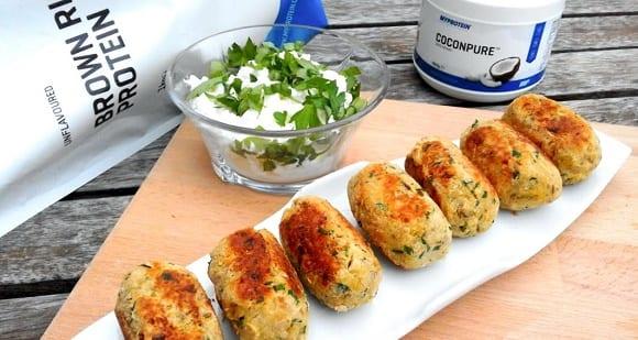 Receta de Falafel de Garbanzos, Especias y Proteína Vegana