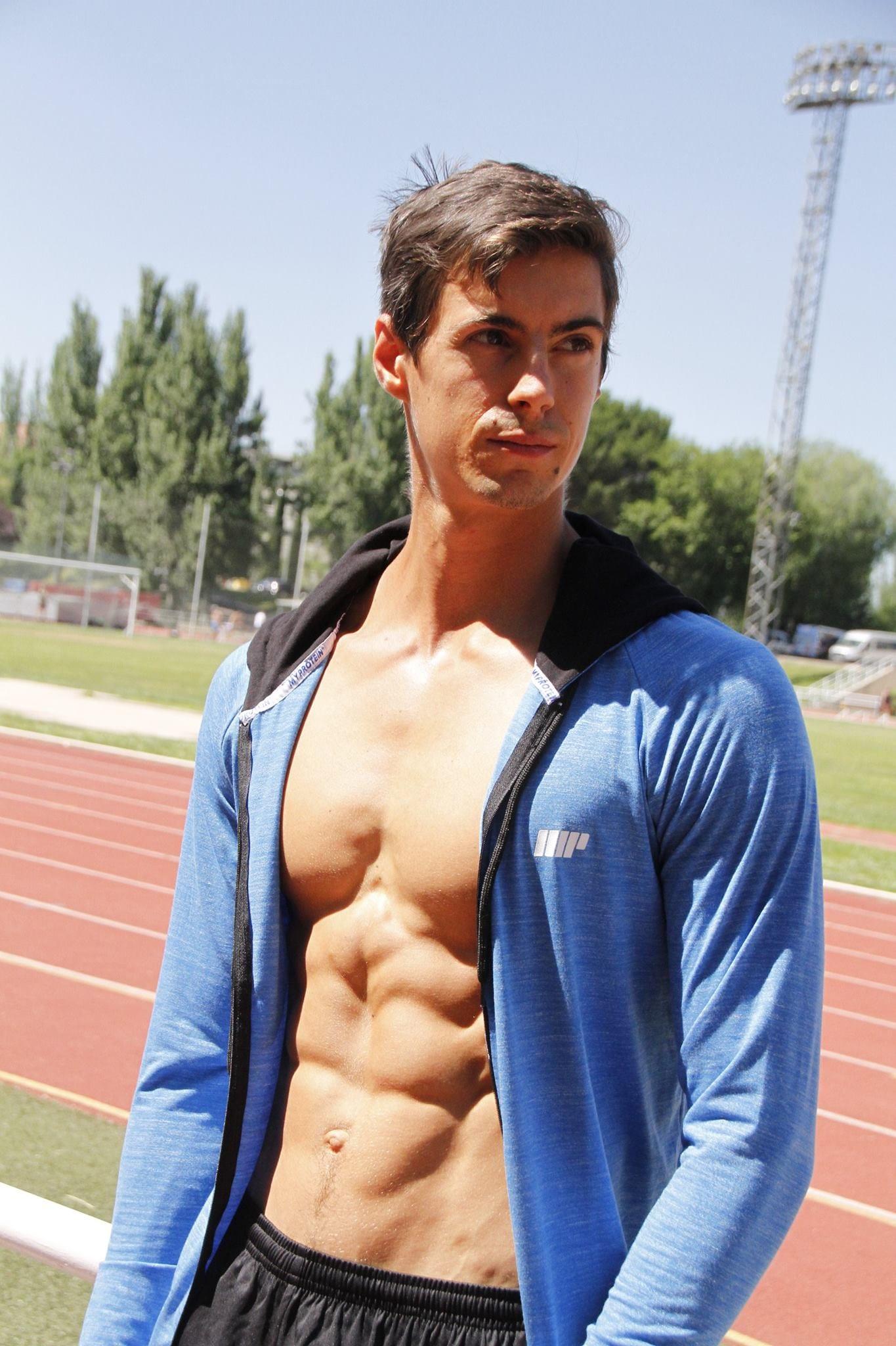 miguel atleta vegano