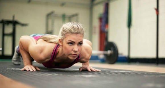 entrenamiento flexiones