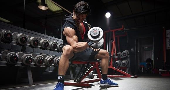 bíceps ejercicio