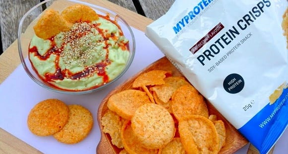 Receta Fit – Hummus, Alubias y Aguacate con Crisps Proteicos
