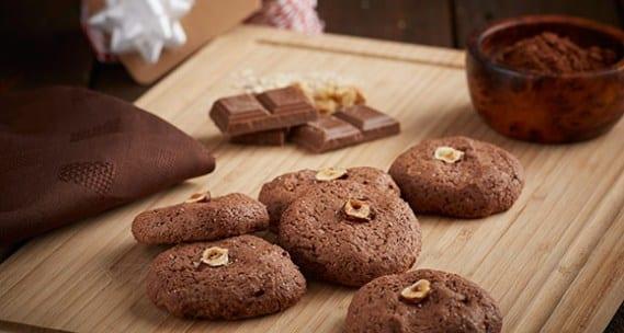 Postre Navideño Sano – Receta de Cookies de Nutella