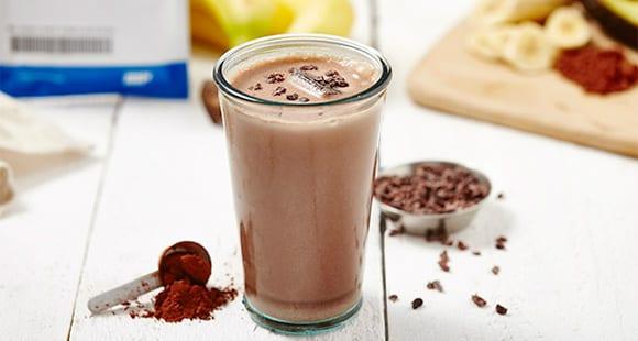 Receta de Batido de Chocolate con Choco Chips