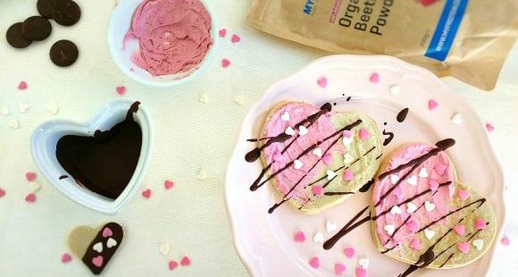 Desayuno de San Valentín | Tortitas en Forma de Corazón