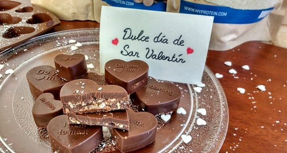 Dulces de San Valentín l Bombones de baobab con chocolate