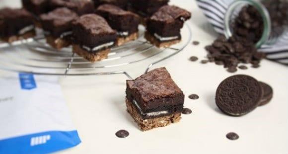 Brownies de Oreo | Receta Baja en Calorías
