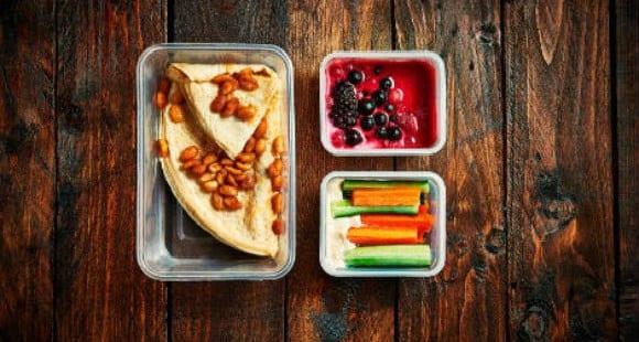 comidas preparadas con alimentos orgánicos