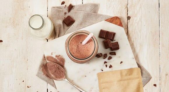 tortitas proteicas con chocolate