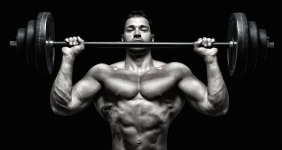 rutina de hombro para aumentar masa